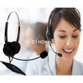 V202T หูฟัง Headset สำหรับโทรศัพท์บ้านและคอลล์เซนเตอร์