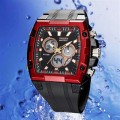 OHSEN AD0918-4: Dual System Alarm / Chronograph Sports Watch