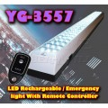 YG-3557 LED Rechargeable/Emergency light With Remote Controller