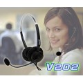 V202 HEADSET FOR LANDLINE TELEPHONE  CALL CENTER