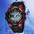 OHSEN – AD1302-4: Dual System Alarm / Chronograph Sports Watch