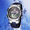 OHSEN – AD716-3: Dual System Alarm / Chronograph Sports Watch