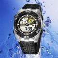 OHSEN – AD0828-1: Dual System Alarm / Chronograph Sports Watch