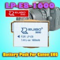 Ruibo LP-E8-1600 Lithium Battery For Canon EOS 550D, 600D, 650D, 700D  Others