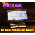 PR-166 Car Multi-function Digital Compass