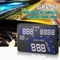 GPS-07 Car GPS HUD With Speed Warning [GPS Head-Up Display]