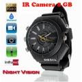 กล้องนาฬิกาข้อมือFULL HD 1080P มีอินฟราเรดถ่ายในที่มืดได้ ถ่ายวีดีโอ ถ่ายภาพนิ่ง เมม 8 GB