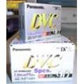 ม้วนเทปกล้องถ่ายวีดีโอ ระบบ Mini DV (AY-DVM60EF) ยี่ห้อ Panasonic (1 กล่อง 5 ม้วน)