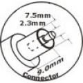 Adaptor  สำหรับ Apple  =  24 V  2.67 A