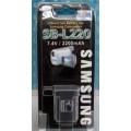 แบตเตอรี่ ยี่ห้อ Samsung รหัสแบตเตอรี่ SB-L220 ความจุ 2200mAh รับประกัน 6 เดือน (Battery Camera)