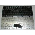 Keyboard Notebook สำหรับรุ่น BenQ Joybook S46 (BQ-03) คีย์บอร์ดโน๊ตบุ๊ก แถมสติ๊กเกอร์