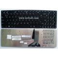 Keyboard Notebook สำหรับรุ่น Asus K55 K56 K75 U57 A55 R500 (AS-24) คีย์บอร์ดโน๊ตบุ๊ค แถมสติ๊กเกอร์