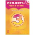 Projects : Play  Learn Teacher\'s Book3 พร้อม CD AUDIO