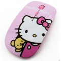Hello Kitty Wireless Mouse เมาส์ไร้สาย ฮัลโหล คิตตี้ ลาย A