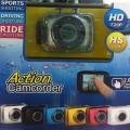 กล้องกันน้ำ ถ่ายภาพนิ่ง /ภาพวีดีโอพร้อมเสียง/ถ่ายในรถยนต์มีจอในตัว ขนาด 2.0 นิ้ว กันน้ำได้ 9 เมตร
