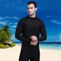 เสื้อว่ายน้ำแขนยาว  เนื้อผ้าสแปนดิซ ยืดหย่นดี ใส่สบาย สำหรับชาย ป้องกันแสงยูวี 50+ NO.600