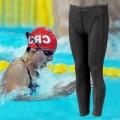 กางเกงว่ายน้ำขายาว สีดำ NO.643
