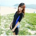 ชุดว่ายน้ำแขนสั้น ขาสั้น  สำหรับหญิง ป้องกันแสงยูวี 50+  NO.721