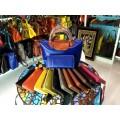 กระเป๋าหนังแท้ Tlux item NQ001G + กระเป๋าสตางค์ 41 สีน้ำเงิน
