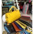 กระเป๋าหนังแท้ Tlux item ABB01Y + กระเป๋าสตางค์ 41 สีเหลือง