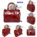 กระเป๋าหนังแท้ Tlux item BW001R สีแดง