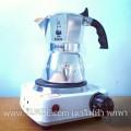 เตาไฟฟ้า ขนาดเล็ก รุ่นใหม่ ปุ่มปรับ5ระดับ Hot Plate MINI stove Electric Hot Plate for MOKA POT