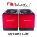 ลำโพงคู่ชั้นเยี่ยม Nakamichi รุ่น My Sound Cube (สีแดง)