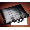 กระเป๋าหนัง กระเป๋าผู้ชาย กระเป๋าเอกสาร กระเป๋าโน็ตบุ๊ค สีดำ Lenwe Bolo Code0162