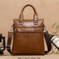 กระเป๋าสะพาย กระเป๋าผู้ชาย กระเป๋าหนัง กระเป๋าไอแพ็ต กระเป๋าเอกสาร Polo 1149 - Brown