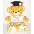 ตุ๊กตาหมีป๊อปปูล่าจัมโบ้ใส่หมวกรับปริญญาขนาด  32  นิ้ว  (ของหมดชั่วคราว )
