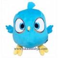 ตุ๊กตาแองกี้เบิร์ดสีฟ้า ขนาด 10 นิ้ว Jay,Jake,Jim (Blue Bird)