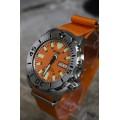 สายนาฬิกา สายนาโต้ NATO STRAP สีส้ม 20 mm.