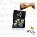 WKM SilverGold Polishing Cloth size:S 11x16cm ผ้าเช็ดขัดเงาเครื่องประดับเงินและทอง