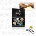 WKM SilverGold Polishing Cloth size:L 22x32cm ผ้าเช็ดขัดเงาเครื่องประดับเงินและทอง