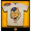 เสื้อ T-shirt Tiger boy (S) เสือยืดคอกลม ลายเสือ ผ้าคอตต้อนแท้100 *สินค้าขายดีติดอันดับtop5