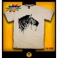 เสื้อ T-shirt Zebra (XL) เสือยืดคอกลม ลายม้าลาย ผ้าคอตต้อนแท้100 *สินค้าแนะนำ
