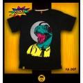 T-shirt Dino (M) เสื้อยืดคอกลม ลายไดโน ผ้าคอตต้อนแท้100 *สินค้าแนะนำ