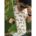 เสื้อกล้าม ท้าลมฝน ลายกล้วยๆ (S,M,L)