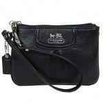 กระเป๋าคล้องมือ COACH MADISON LEATHER SMALL WRISTLET STYLE 46730