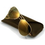 แว่นกันแดด RAYBAN แว่นกันแดด RAY-BAN 3025 W3276 Gold Mirror