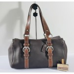 COACH F10887 Brown Leather Satchel