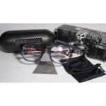 กรอบแว่นตา Oakley Cloverleaf 51mm สี  Navy crazy