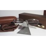 กรอบแว่นสายตา Oakley Caliper (48) สี Pewter/Black