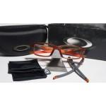 กรอบแว่นสายตา Oakley Crosslink 53 สี Satin Rootbeer / Orange