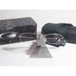 กรอบแว่นตา Oakley Wingback 53 mm สี Gunmetal (เงินเงา)