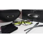 กรอบแว่นสายตา Oakley Crosslink Sweep 55 Asian Fit  สี Grey Smoke ยาง Retina Burn