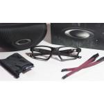 กรอบแว่นสายตา Oakley Crosslink Sweep 55 Asian Fit  สี Satin Black ยาง ดำ
