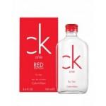 น้ำหอม CK one RED Calvin Klein EDT 100 ml. for her (พร้อมกล่อง) น้ำหอมผู้หญิง