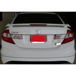 สปอร์ยเลอร์ Honda Civic 2012 ทรง Modulo ตัวยกมีไฟเบรค