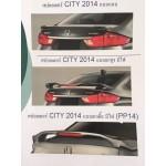 สปอร์ยเลอร์ Honda City 2014 2015 2016 มี 3 แบบ